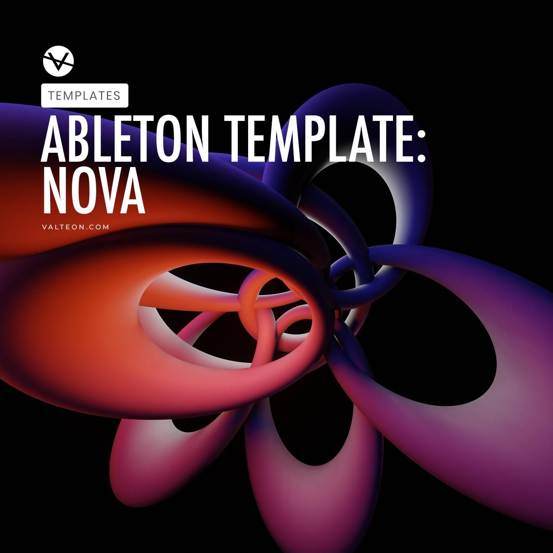 Nova - Progressive Trance Template for Ableton Live 10